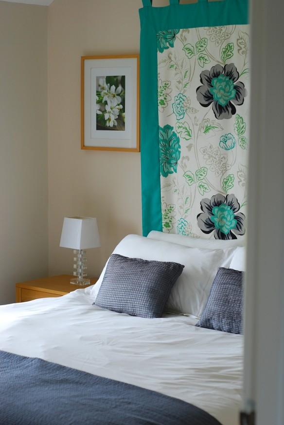Apartment master bedroom