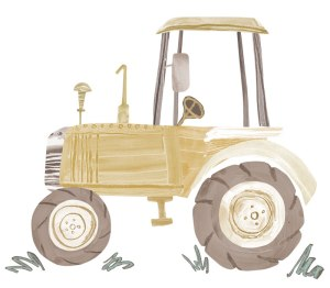 Brown-Tractor